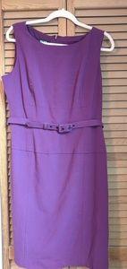 Nine West Purple Office Dress